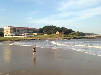 Enjoying the beach at St Michaels